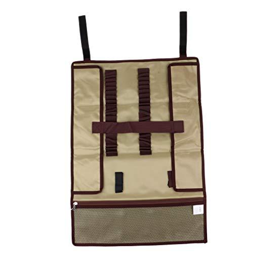 弾薬教えスタジオFenteer オックスフォード布 テントペグ収納ケース キャンプツール収納ケース 全2色