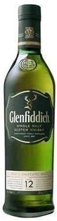 GLENFIDDICH whisky 12 años botella 70 cl