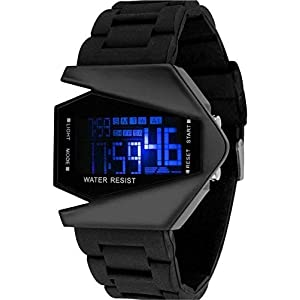 Harmi Black Rocket Analouge Digital Watch for Boys and Men Watch – for Boys & Girls
