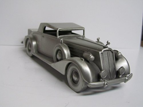 Vintage Danbury 1937 Packard Coupe Pewter Car for sale  Delivered anywhere in USA
