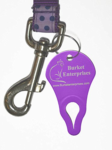 Amazing Tick Tool! 2 Individually Wrapped-Tick Key Remover Kits with Bonus! Fast, Easy & Effortless - Never Touch a Tick. 99.9% Effective on Removal of All Sizes & Types of Embedded Ticks! Each Kit Contains a Reclosable Bag, 1 Tick Key, Detailed Instructi by Burket Enterprises (Image #2)