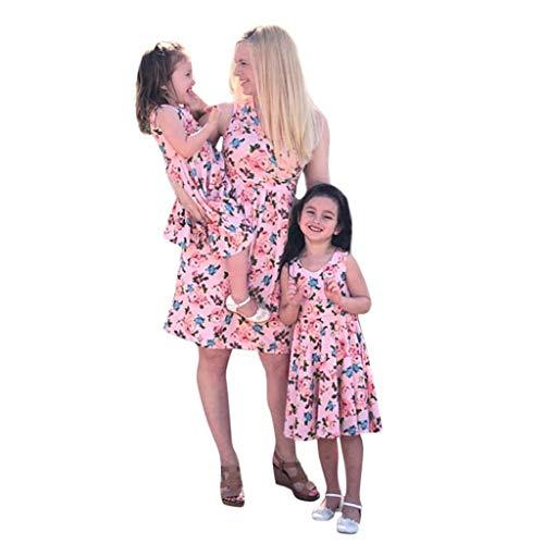 MISYAA Matching Dresses Mommy&Me Beach FloralSundresses Aline Dress Skirts Maternity Gifts
