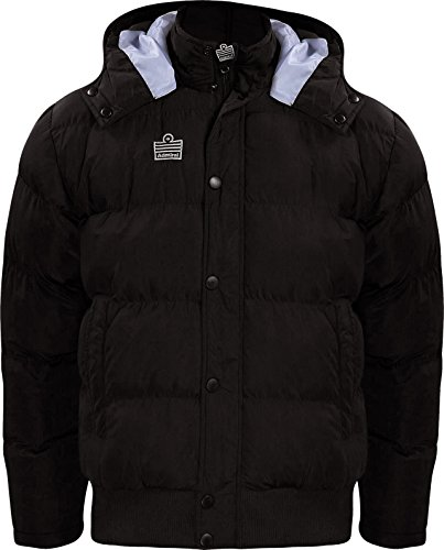 Admiral Parka Soccer Sideline Winter Jacket, Black, Adult XX-Large