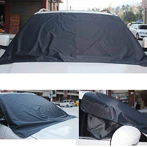 BianchiPamela Car Exterior Protection Snow Blocked Car Snow Ice Protector Visor Sun Cover