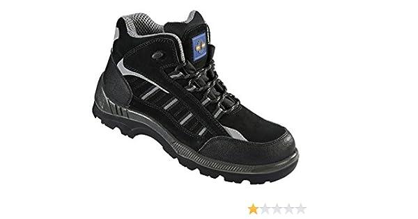 Pro PM4020 S3 de hombre negro con puntera de metal compuesto non-de lluvia sobre acabado metálico botas protectoras de trabajo alicates de precisión para ...