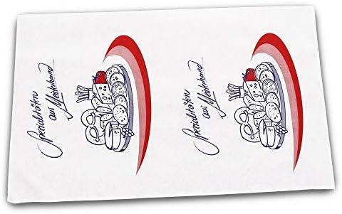 """13x Frischhaltepapier""""Spezialitäten aus Meisterhand"""", Einschlagpapier, 37x50 cm"""