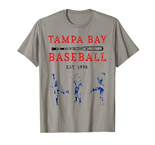 Classic Tampa Bay Baseball Shirt Fan Retro Vintage T-Shirt  T-Shirt