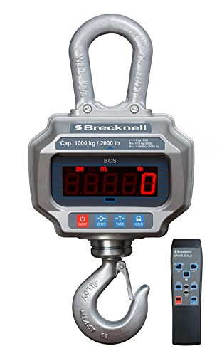 NEW Model Salter Brecknell Heavy Duty High Firm Crane Scale / Hanging Scale 2000 LB by 1LB accuracy