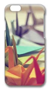 Colorful Origami Custom iphone 6 plus 5.5 inch Case Cover Polycarbonate 3D