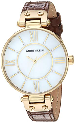 Anne Klein Dress Watch (Model: AK/3228MPBN) ()