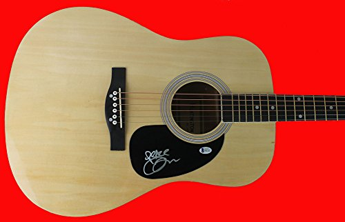 olds Dave Matthews Band Certified Signed Acoustic Guitar - Beckett Certified ()