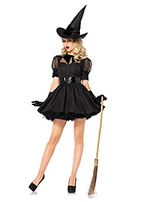 Leg Avenue Women's 3 Piece Bewitching Witch