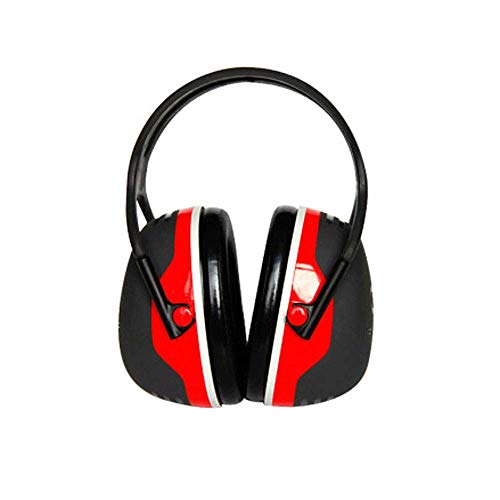 FS Soundproof Earmuffs, Ear Protectors Adults Sleeping Headphones Comfortable Noise Reduction Professional Anti-noise Factory X5A Soundproof Earmuffs (Color : Noise Reduction 33db Red) by FSHEZ (Image #6)