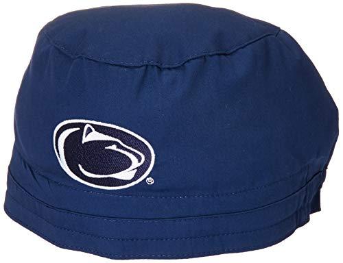 WonderWink Men's Penn State University Scrub Cap, Navy, 1SZ