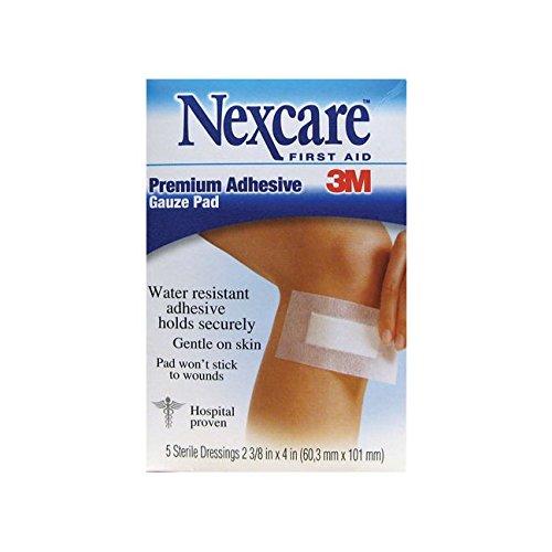 Nexcare Soft Cloth Premium Adhesive Pad 2 3/8 x 4 - 5 ea Aid Premium Adhesive