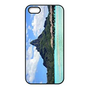 iPhone 4 4s Cell Phone Case Covers Black Bora Bora With Nice Appearance Shvdk