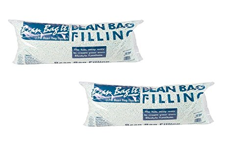 Ace Bayou Bean Bag Refill Polystyrene Beads, 3.5 cu ft (2)