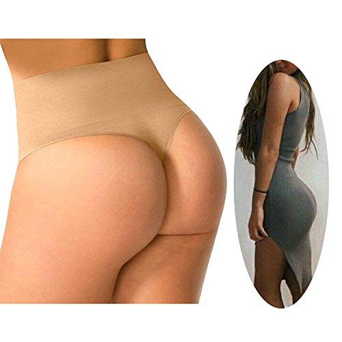 FUT Women Waist Cincher Girdle Tummy Control Slimmer Sexy Thong Panty Shapewear