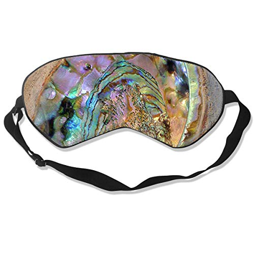 QWEDZ Sleeping Mask Abalone Shell Printed Geometric for sale  Delivered anywhere in USA