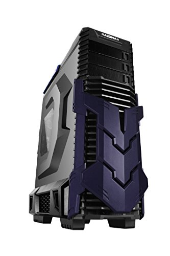 RAIDMAX Agusta Black Purple ATX Full Tower Gaming Case