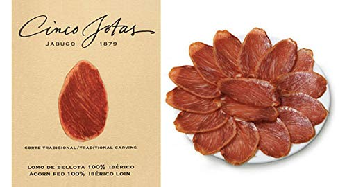 Used, 5J Sliced Lomo Ibérico de Bellota for sale  Delivered anywhere in USA