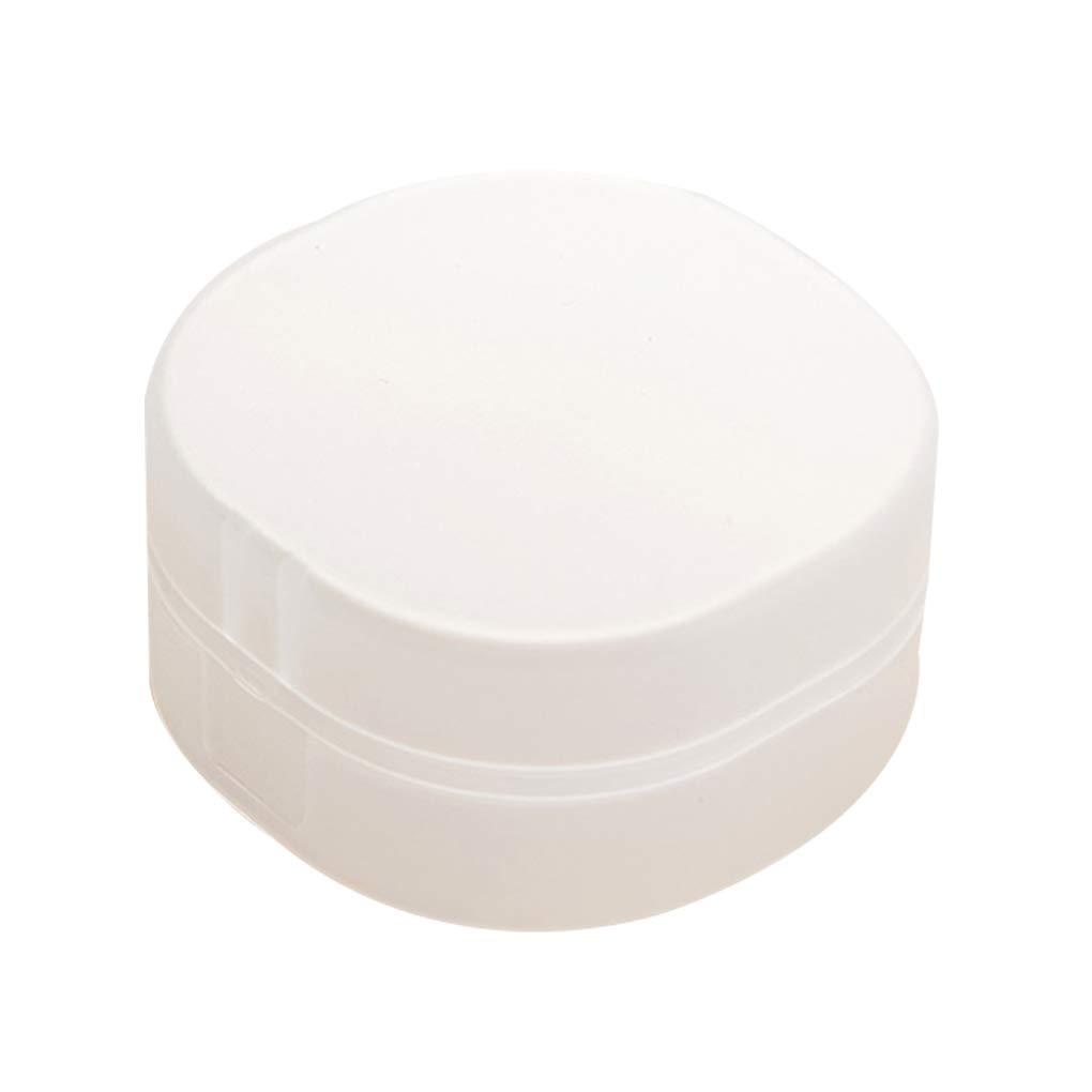 OmkuwlQ Square Travel Portable Soap Box Translucent Plastic Aerobic Handmade Sponge Soap Case Bathroom Supplies