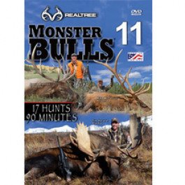 Monster Bulls 11 | REALTREE | Whitetail Deer Hunting DVD NEW (Equipment Play Barn)