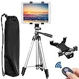 "Tablet Tripod, PEYOU 42"" inch Portable Lightweight Adjustable Aluminum Camera Tablet Tripod +"