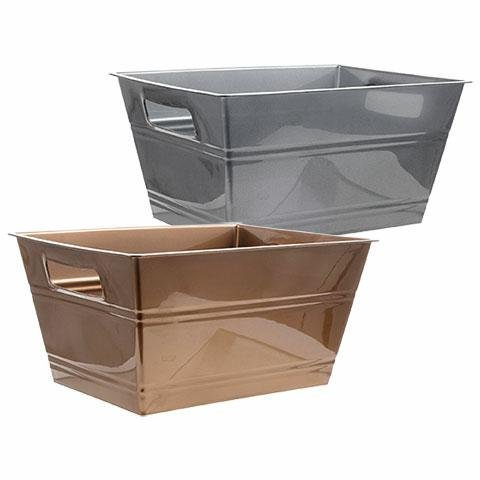 Plastic Locker Baskets with Slots Rectangular Shape Grey Containers Brown Cubes Square Slotted Lockers Book Bin Set with Handles Toy Organizer Boxes for Kids, Kitchen Living Room Organizing Container by Locker Baskets