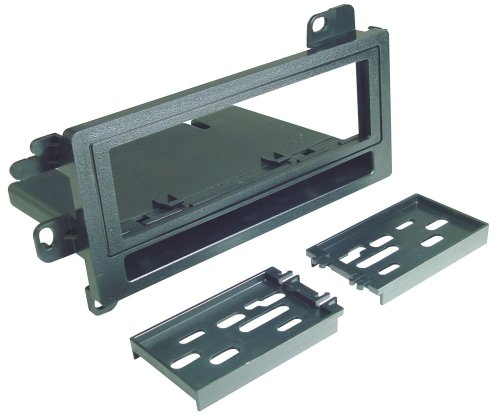Scosche CJ1278B Single DIN Installation Dash Kit with Pocket for Select 1974-Up Chrysler/Dodge/Eagle/Jeep ()