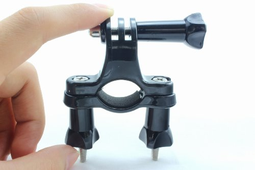 Gopromate(TM) Bicycle Bike Handlebar Seatpost Pole Mount for Gopro HD Hero3 2 1 Camcorder
