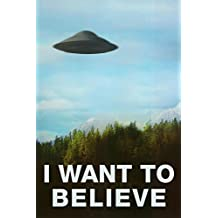 The X-Files (I Want to Believe) TV Poster Print - 24x36