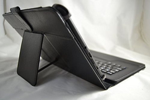 nera Custodia con tastiera Bluetooth rimovibile colore Tab 3 per Tablet Samsung Galaxy Tab 2 Tab 4/da 10,1