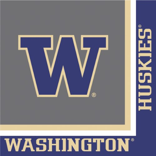 (Creative Converting University of Washington Huskies Luncheon Napkins (20)
