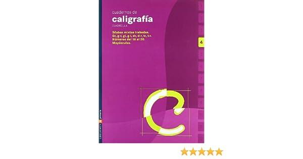 Cuaderno de caligrafia 4 Cuadricula Primaria - 9788426358486: Amazon.es: Equipo Edelvives: Libros