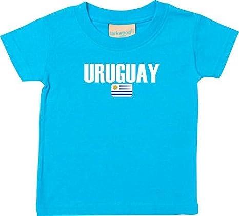 Shirtstown Bebé Niños Camiseta Fútbol Camiseta de País Uruguay: Amazon.es: Ropa y accesorios