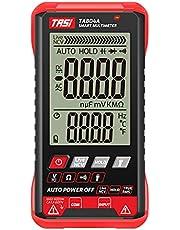 Tomshin Multímetro digital TA804A Auto testador profissional True RMS Multímetro Ultra-fino Inteligente OHM NCV Voltage Meter