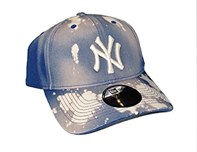 New York Yankees Adjustable One Size Fits Most Navy Blue Hat Cap by New Era Cap Company, Inc.