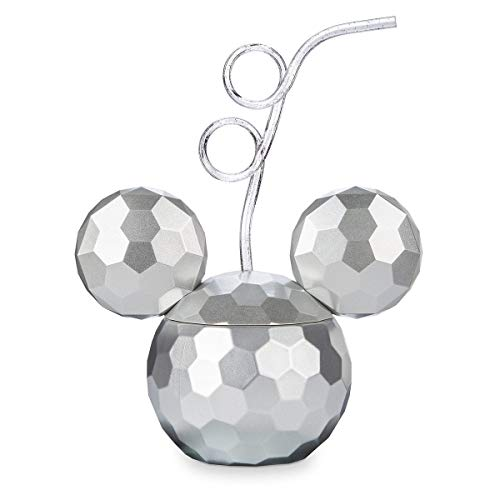 (Disney Mickey Mouse Disco Ball Tumbler with Straw)