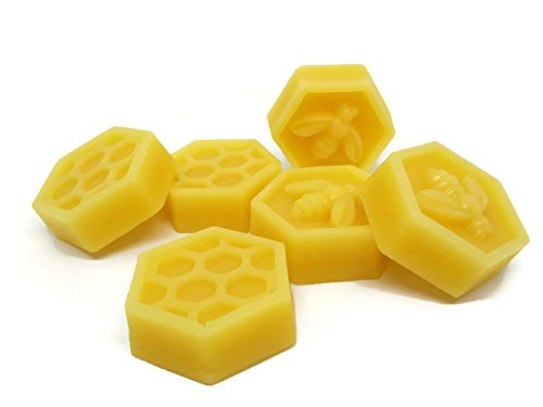 Pure Beeswax Organic Hand Poured - Premium Quality, Cosmetic Grade, Filtered Bees wax