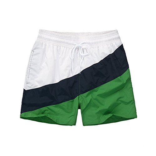 DAWUOOER Mens Board Shorts Couple Swimsuit Beach Pants Men Boardshorts calcoes M by DAWUOOER