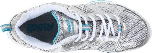 RYKA Frauen verbessern 2 Cross-Training Schuh Weiß / Grau / Hellblau