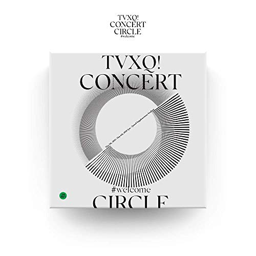 SM Entertainment TVXQ (東方神起) - TVXQ! Concert -Circle- #Welcome DVD 2DVD+Photobook+4Photocard+Folded Poster by SM Entertainment (Image #6)
