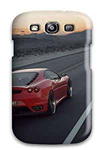 DanRobertse Design High Quality Ferrari Desktop Background Cover Case With Excellent Style For Galaxy S3