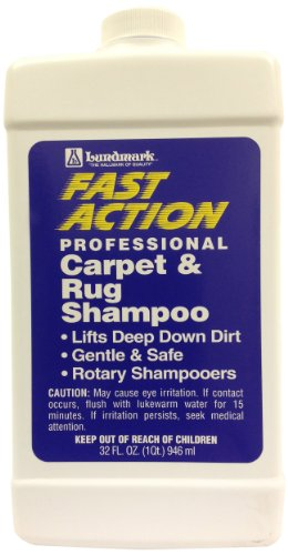 Lundmark Wax-Fast Action FAS-6231F32-6 Carpet and Rug Sha...