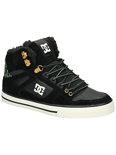 DC Shoes Spartan High Wc Wnt - Zapatillas para hombre Black/Black/Black