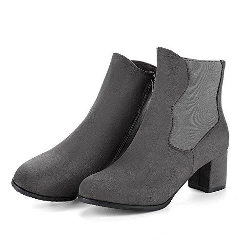 1TO9 1TO9Mns02643 - Sandalias con Cuña Mujer gris