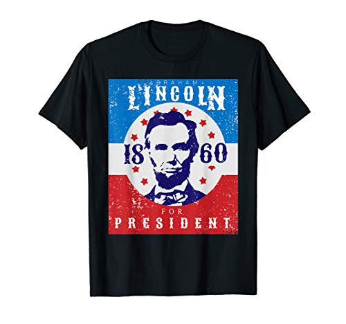 Abraham Lincoln T Shirt 4th Of July Tshirt USA Tee Gift
