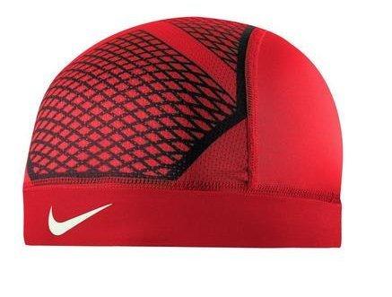 Nike Pro Hypercool Vapor Skull Cap 4.0 ( Red/ Black/ White) (Cap Red Skull)