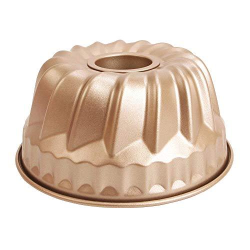 MyLifeUNIT Kugelhopf Mold, Non Stick Bundt Pan, 7-inch 1 Quart Capacity -